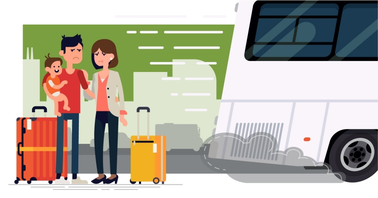 Bus Travel vs Train Travel | Travelling by Bus or Train across