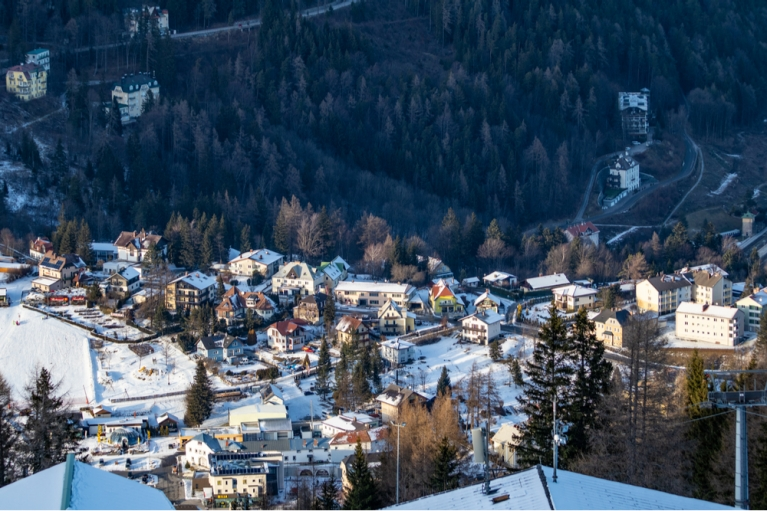 Semmering in winter