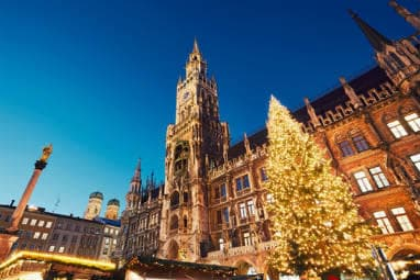 Marienplatz with the Christmas market
