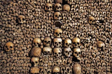 European destinations to spend Halloween | The Catacombs of Paris, France