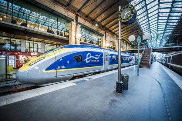 How to Get From London to Paris by Train | Eurostar Chunnel Train