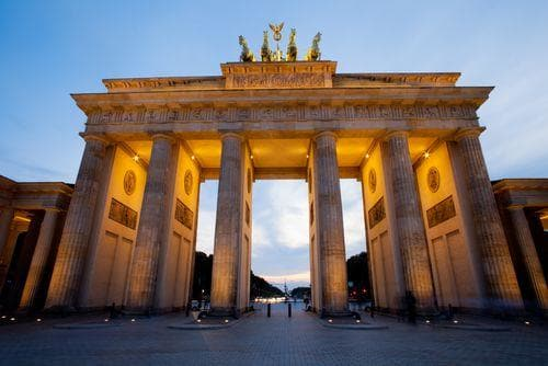 1 week in Germany | Brandenburg Gate in Berlin