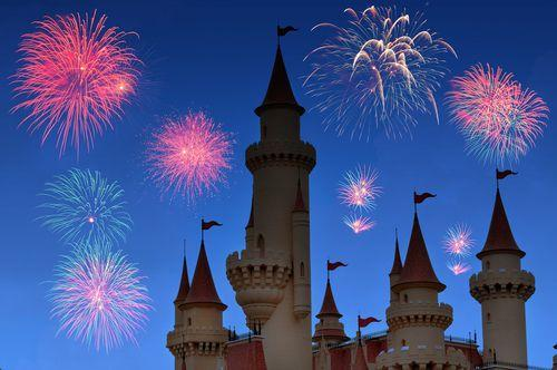 2 weeks in France for families | Fairytale castle with fireworks