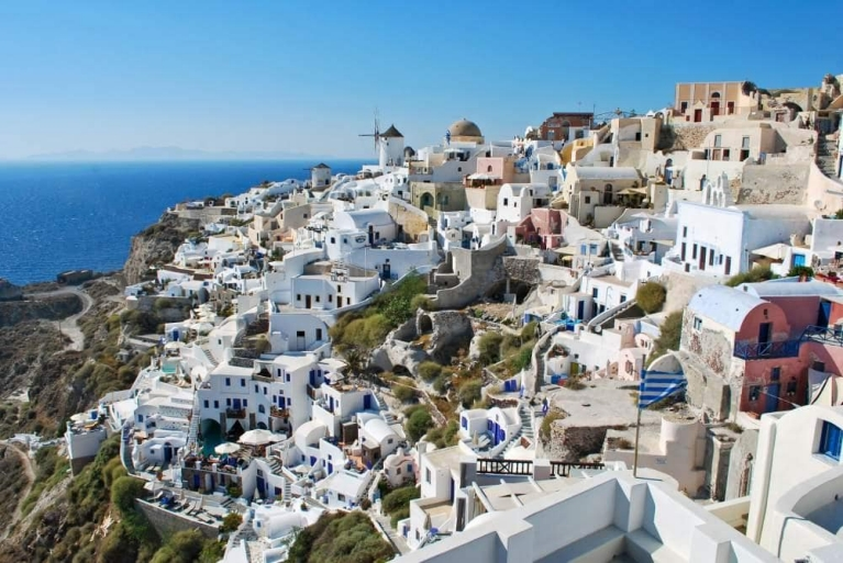 City of Oia, Santorini