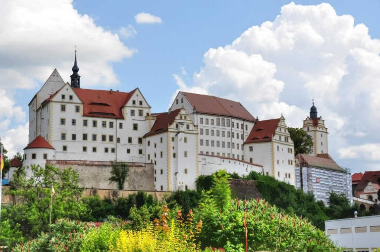 Colditz castle near Leipzig