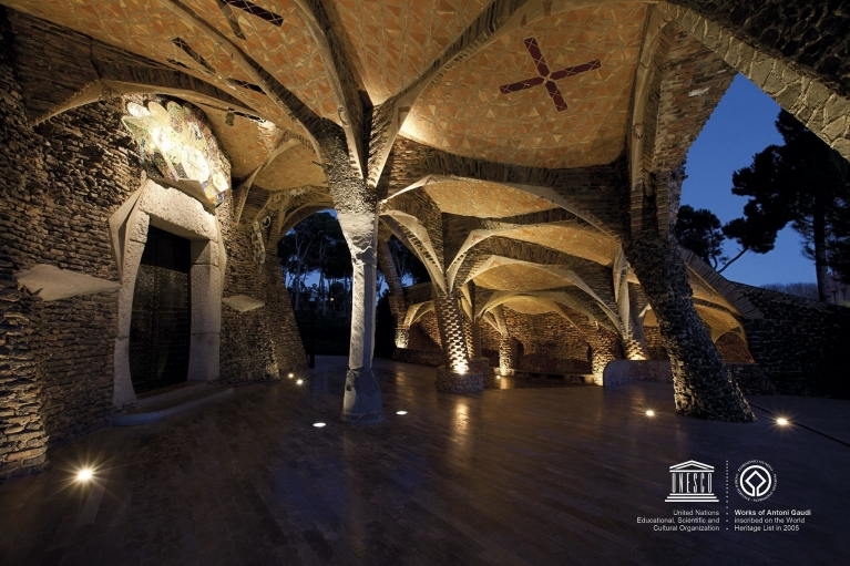 Gaudi Crypt benefit for Eurail and Interrail travelers
