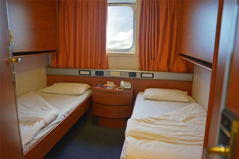 Beds on board of Superfast Ferry