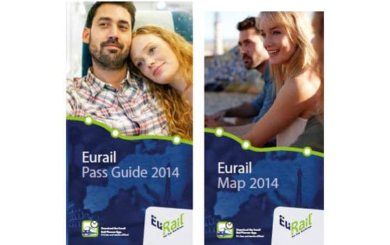 A Eurail Pass guide and map from 2014
