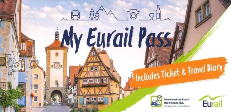 Eurail Pass cover