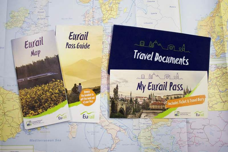 The Eurail Travel Pack 2017