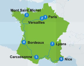 France Itinerary - The Best of France by Rail   Eurail.com
