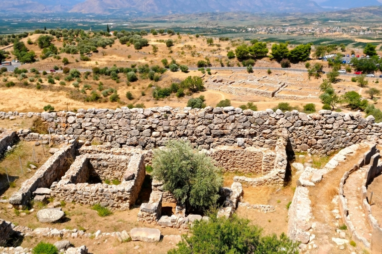 Ancient town of Mycenae