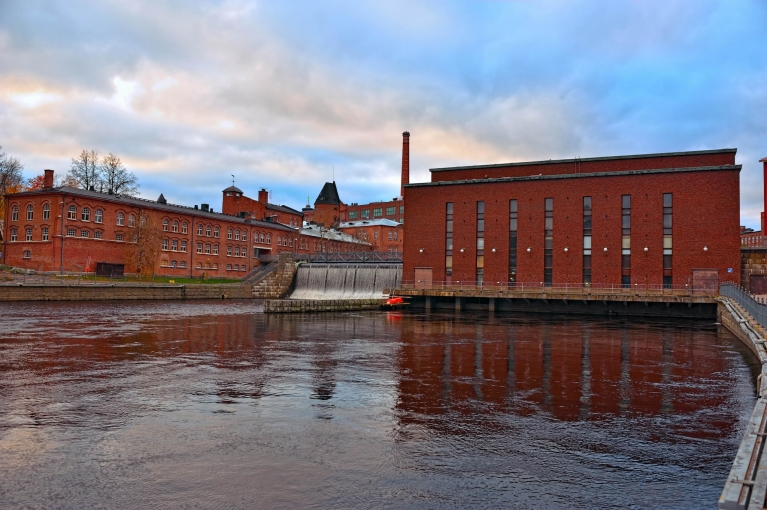 Old power plant in Tampere