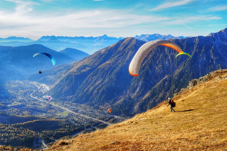 paragliding in France