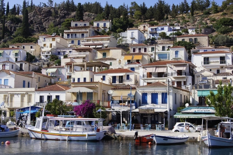Paros - Boats and Whitewashed Houses | Greek Islands