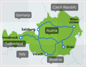 Austria By Train | Austria Train Routes | Eurail.com
