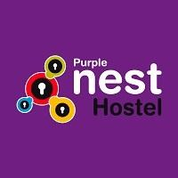 purple nest hostel logo