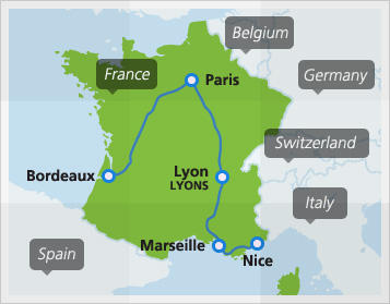 France Train Travel Things To Do In France France Train Routes