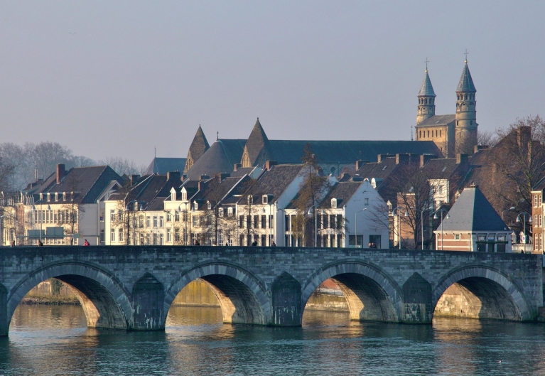 The St. Servatius bridge in Maastricht