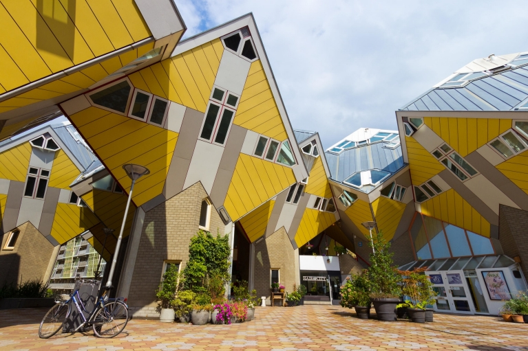 The remarkable Cube Houses in Rotterdam