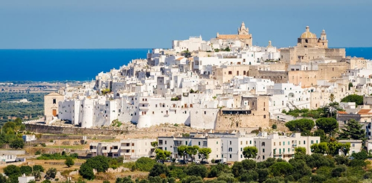 The White Town Ostuni | Ancient History Tour