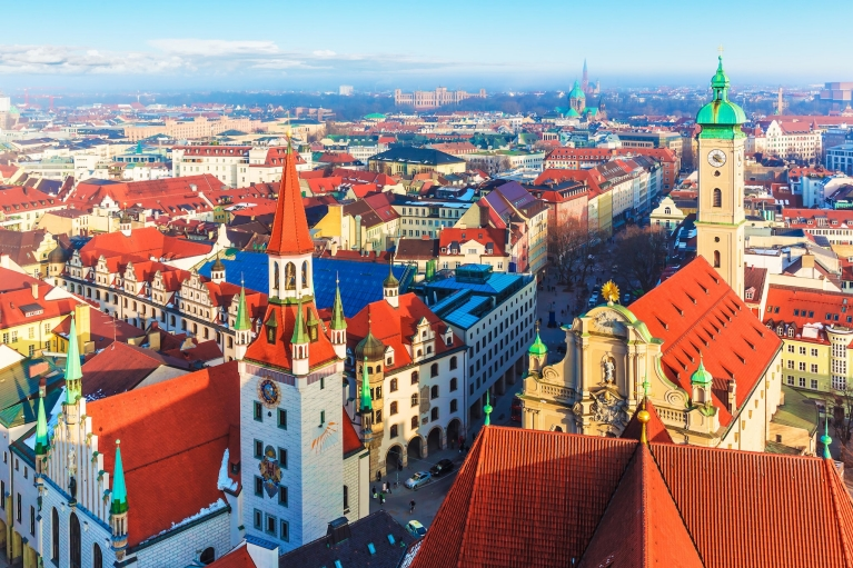 Skyline of Munich