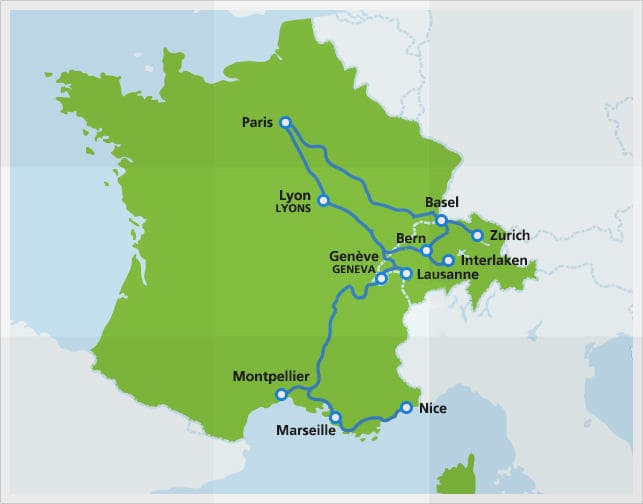 Tgv Lyria High Speed Train Eurail Com