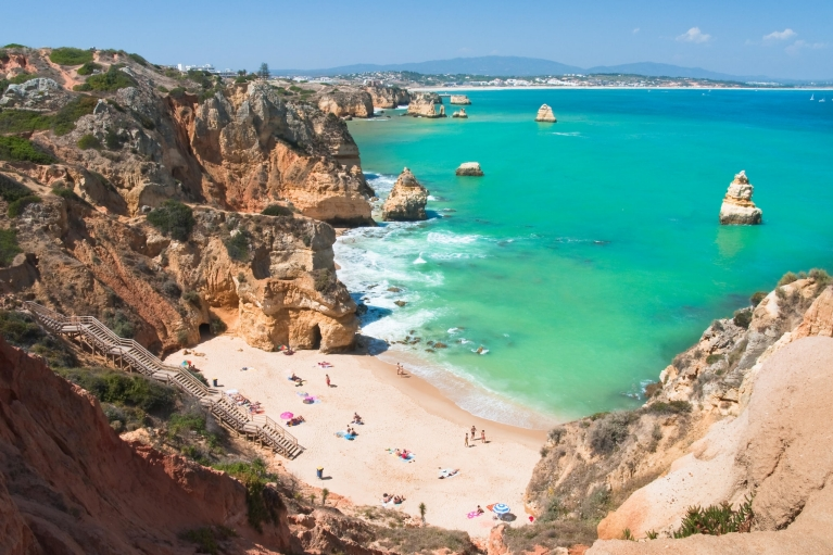 The coast of the Algarve