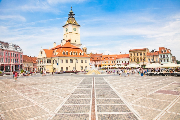 City center of Brasov
