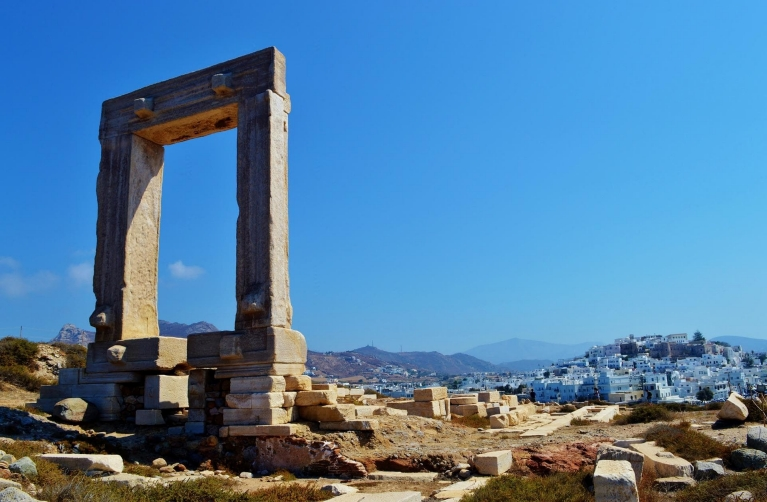 The Great Door (Poratara) on Naxos