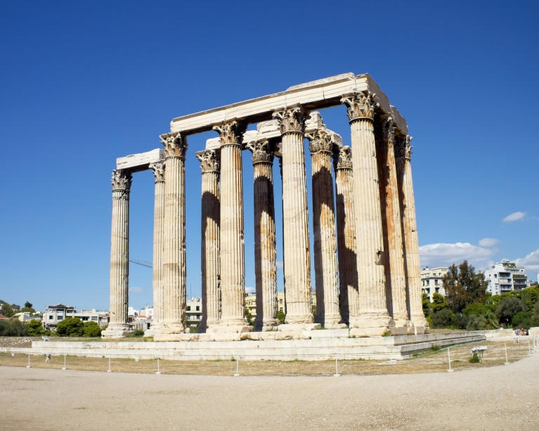 The Temple of Zeus, Olympia