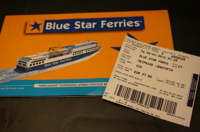 Tickets Blue Star Ferries