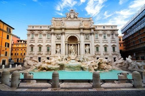 1 week in Italy | Trevi Fountain in Rome