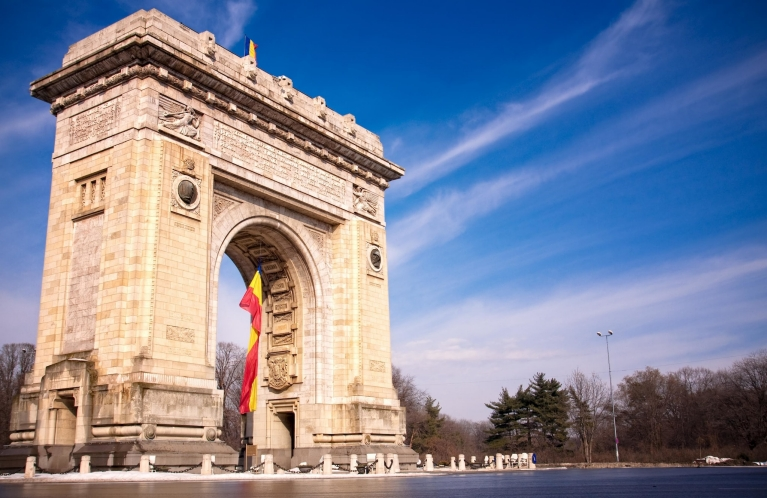Triumph Arch, Bucharest