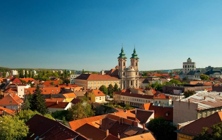 View on Eger