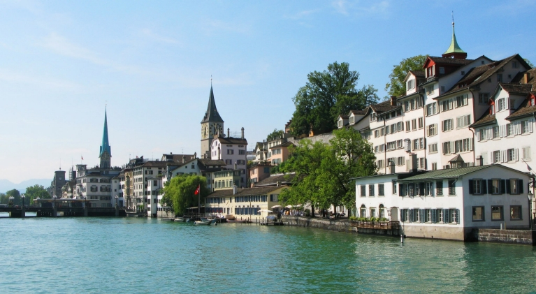 View on Zürich, Switzerland
