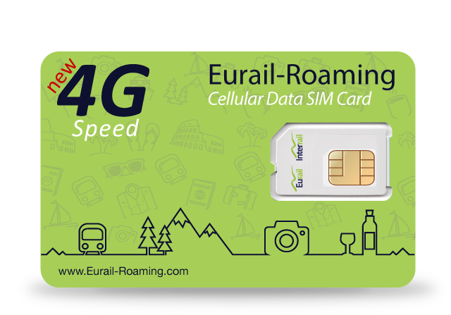 Stay in touch with the Eurail Roaming SIM Card