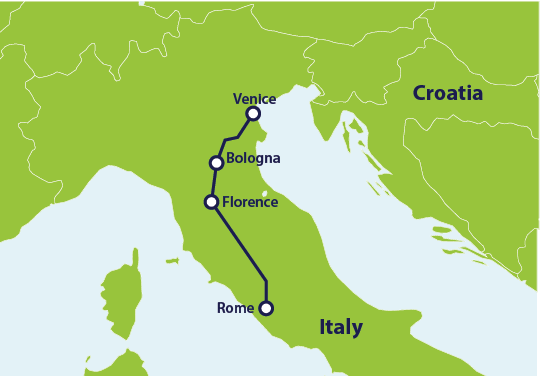 How To Get From Rome To Venice By Train Eurail Com