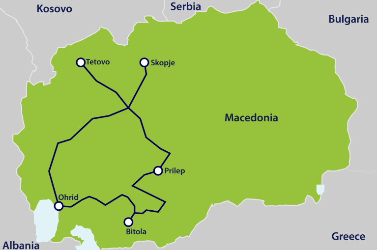Macedonia_itinerary_map
