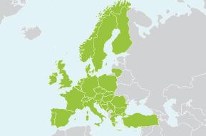 Islas De Europa Mapa.Mapa Ferroviario De Europa Mapa De Europa Y Tiempos De