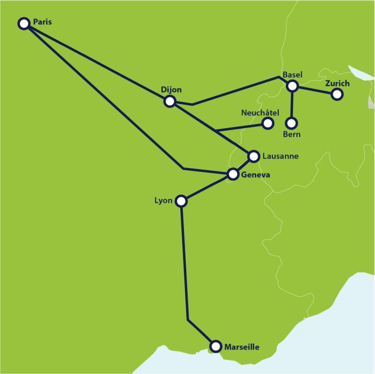 TGV Lyria high-speed train | Eurail.com