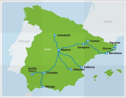 Ave High Speed Train Spain Fast Trains And Bullet Trains Eurail Com