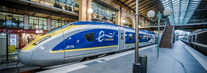 Eurostar high-speed train